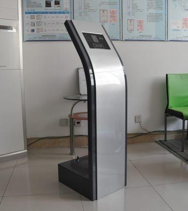 汉王考勤机专用支架-落地式支架机柜