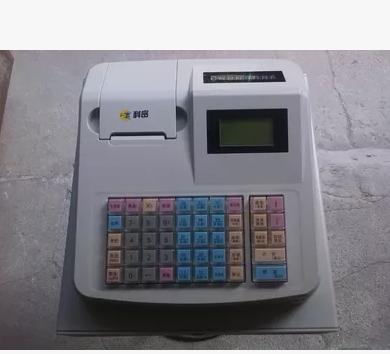 科密SE-168电子收款机 验钞收银机一体机