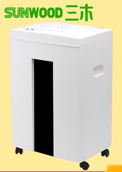 三木新品碎纸机 连续碎纸40分钟 可碎纸张/卡/光盘 五级 SD9112
