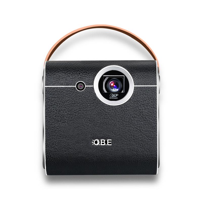 大眼橙投影仪V1 钉钉智能企业办公投影仪会议商务培训投影仪机自动对焦一键投影仪